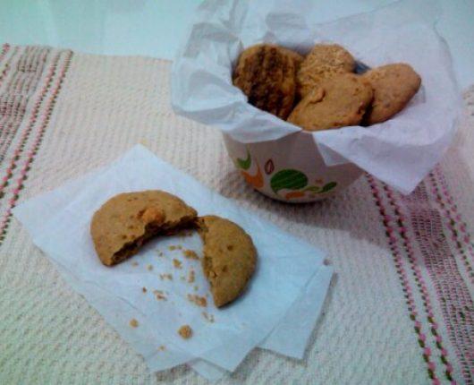 Biscoitinhos de amendoim