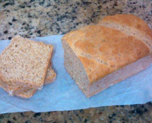 Pão italiano fácil (receita adaptada da Palmirinha)