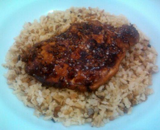 Filés de frango ao shoyo (fogão ou microondas)