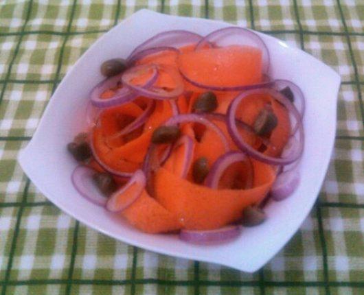 Salada de cenoura diferente